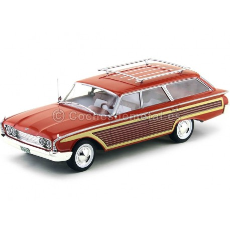 1960 Ford Country Squire Rojo 1:18 MC Group 18074 Cochesdemetal.es