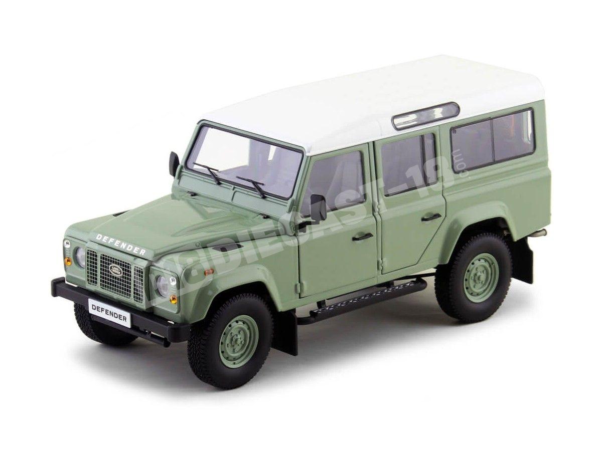 1983 Land Rover Defender 110 Green-White 1:18 Dorlop 1810 Cochesdemetal.es