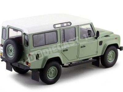 Land Rover Defender blanco maqueta de coche 1:24//Welly