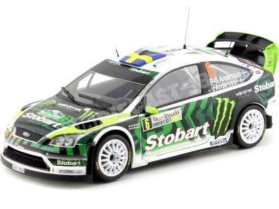 "2010 Ford Focus RS WRC08 ""Rally Bulgaria"" 1:18 Sun Star 3951 Cochesdemetal.es"