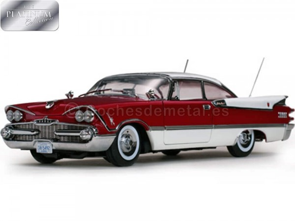 1959 Dodge Custom Royal Lancer Hard Top Ruby-Pearl 1:18 Sun Star 5492 Cochesdemetal.es