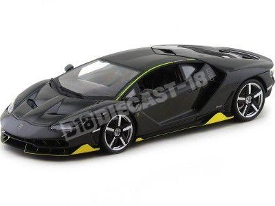 2016 Lamborghini Centenario LP-770 Gris Antracita 1:18 Maisto 31386 Cochesdemetal.es
