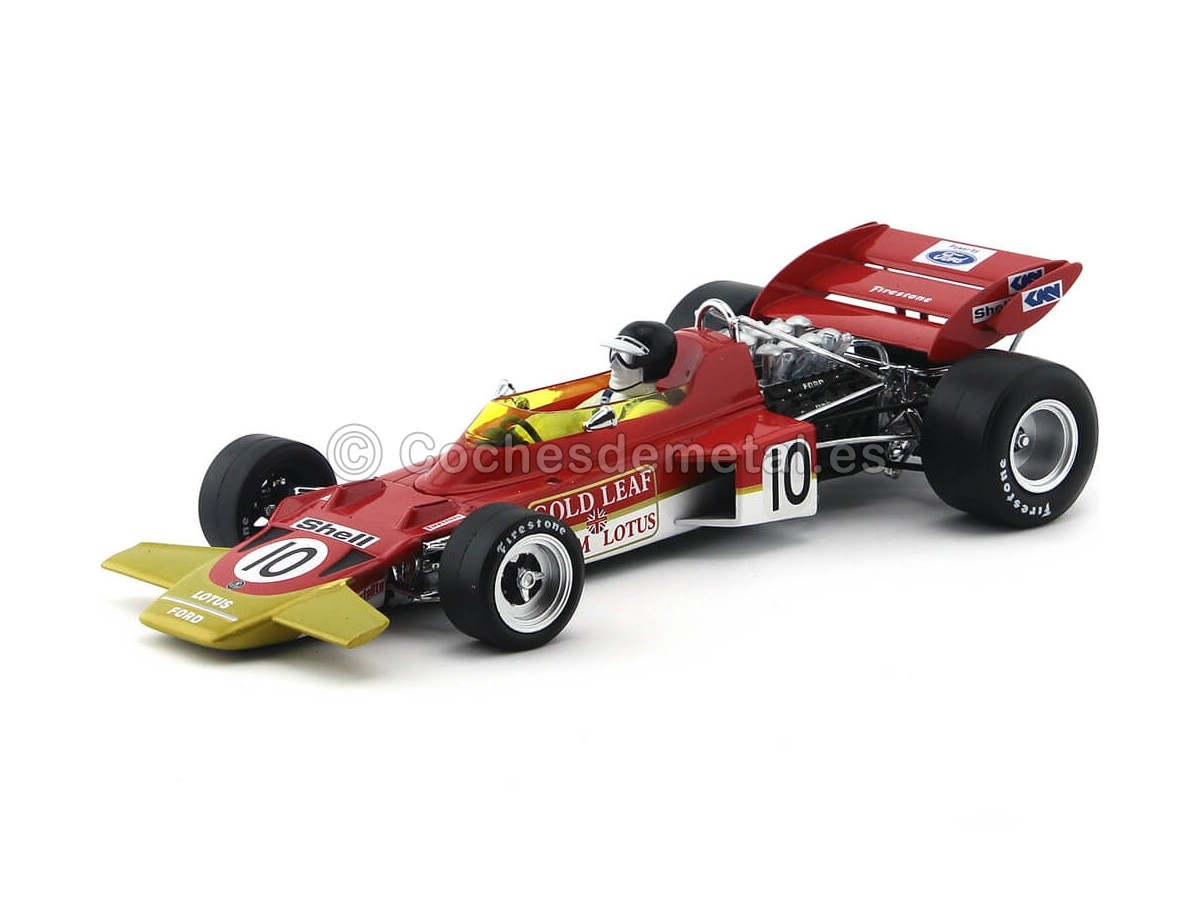 "1970 Lotus Type 72C ""Dutch Grand Prix Winner"" 1:18 Quartzo 18274 Cochesdemetal.es"