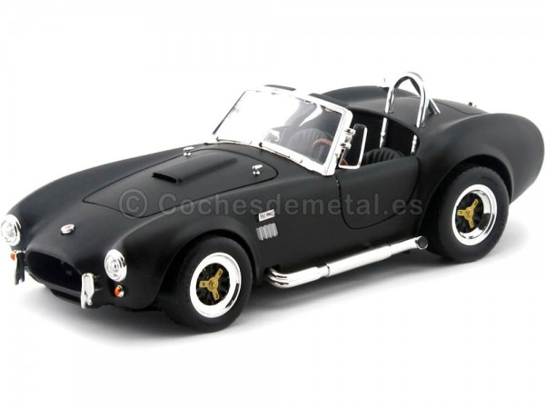 1964 Ford Shelby Cobra 427 S-C Negro Mate 1:18 Lucky Diecast 92058 Cochesdemetal.es