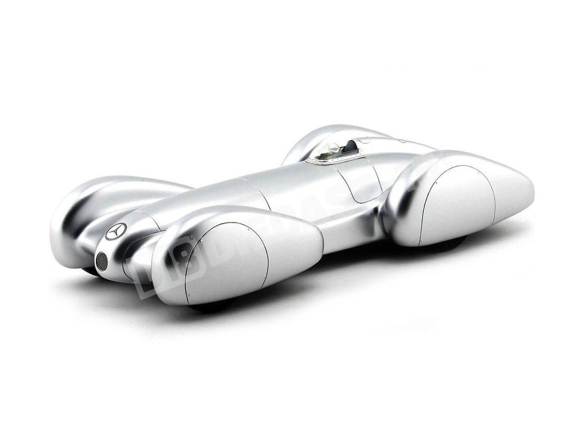 1939 Mercedes-Benz W154 Recordwagen Plata 1:18 BoS-Models 203 Cochesdemetal.es