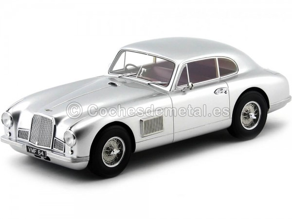 1950 Aston Martin DB2 Fixed Head Coupe Plata 1:18 BoS-Models 247 Cochesdemetal.es