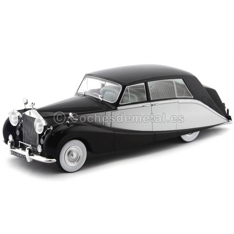 1956 Rolls Royce Silver Wraith Empress By Hooper Gris-Negro 1:18 MC Group 18065 Cochesdemetal.es