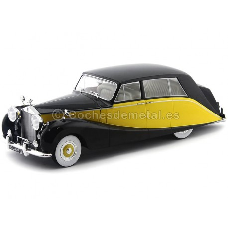 1956 Rolls Royce Silver Wraith Empress By Hooper Amarillo-Negro 1:18 MC Group 18066 Cochesdemetal.es