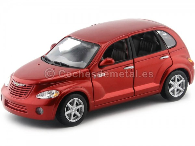 2000 Chrysler GT Cruiser Rojo Cereza 1:18 Motor Max 73107 Cochesdemetal.es