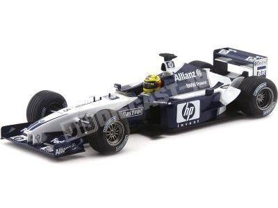 "2002 Williams F1 BMW FW24 ""Ralf Schumacher"" 1:18 Hot Wheels 56424 Cochesdemetal.es"