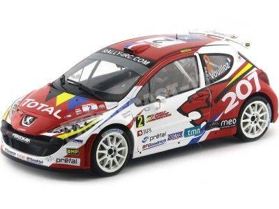 "2008 Peugeot 207 S2000 ""Winner Rali Vinho da Madeira"" 1:18 Sun Star 5435 Cochesdemetal.es"