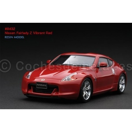 2004 Nissan Fairlady Z Vibrant Red 1:43 HPI Racing 8432 Cochesdemetal.es