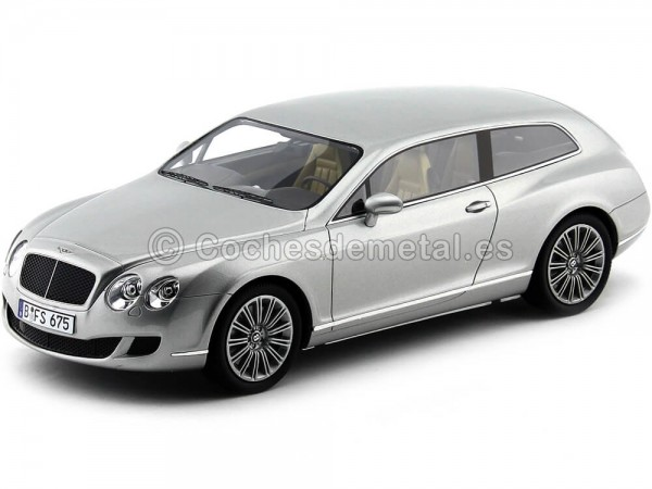 2010 Bentley Continental Flying Star by Touring Gris 1:18 BoS-Models 059 Cochesdemetal.es