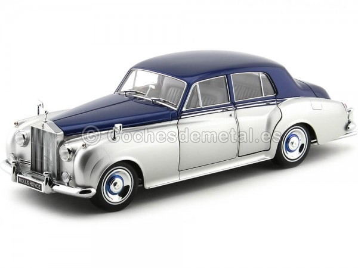 1954 Rolls Royce Silver Cloud II Azul-Gris 1:18 Minichamps 100134902 Cochesdemetal.es