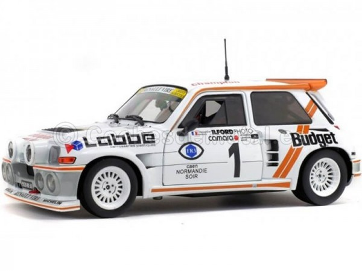 1986 Ranault Maxi 5 Turbo Winner Rally De Armor 1:18 Solido S1850005 Cochesdemetal.es