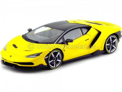 2016 Lamborghini Centenario LP-770 Amarillo 1:18 Maisto Exclusive 38136 Cochesdemetal.es