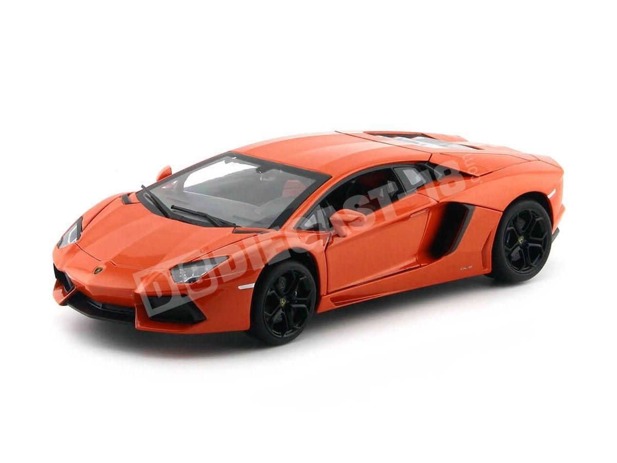 2013 Lamborghini Aventador LP700-4 Naranja 1:18 Rastar 61300 Cochesdemetal.es