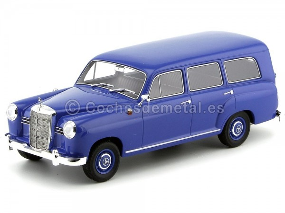 1954 Mercedes-Benz 180D Universal W120 azul 1:18 BoS-Models 077 Cochesdemetal.es