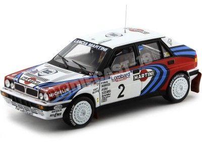 "1991 Lancia Delta HF Integrale 16V ""Winner Lombard RAC Rally"" 1:18 Sun Star 3120 Cochesdemetal.es"