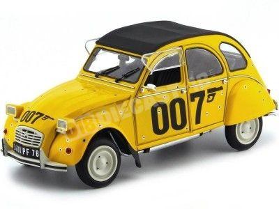 "1981 Citroen 2CV6 ""Bond 007: Solo Para tus Ojos"" 1:18 Solido S1850012 Cochesdemetal.es"
