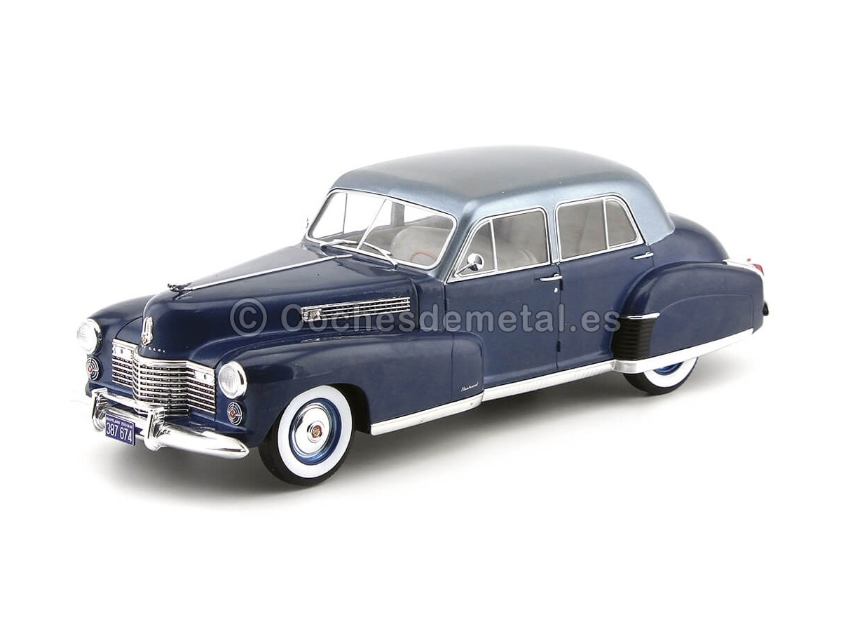 1941 Cadillac Fleetwood Series 60 Special Sedan Azul 118 MC Group 18072 Cochesdemetal.es