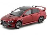 2008 Mitsubishi Lancer Evolution X Red 1:18 Kyosho Samurai KSR18019R
