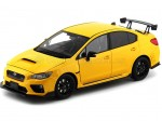 2015 Subaru WRX Sti S207 NBR Challenge Package Yellow 1:18 Sun Star 5551