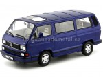 1992 Volkswagen Bulli T3 Multivan Last Edition azul 1:18 KK-Scale 180141