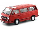 1992 Volkswagen Bulli T3 Multivan Last Edition Rojo 1:18 KK-Scale 180142