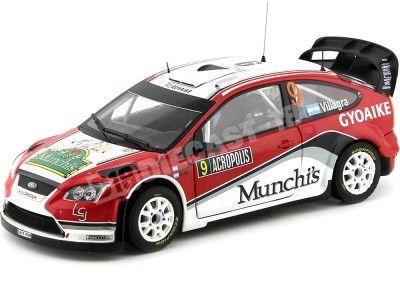 "2009 Ford Focus RS WRC08 ""Rally Acropolis"" 1:18 Sun Star 3949 Cochesdemetal.es"