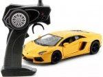 2013 Lamborghini Aventador LP700-4 Amarillo Radio Control 1:24 MZ Models 25021