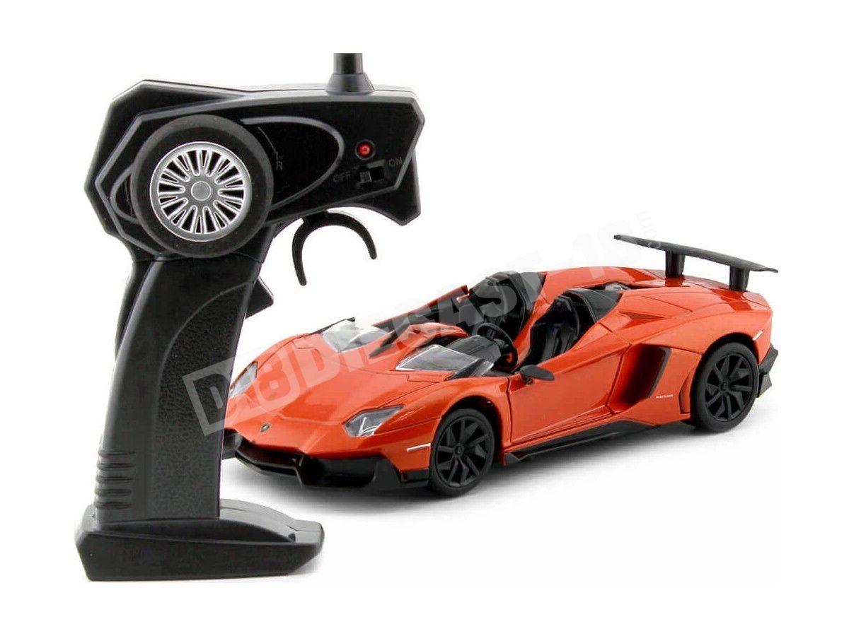 2011 Lamborghini Aventador J LP 700 Naranja Radio Control 1:24 MZ Models 25070 Cochesdemetal.es