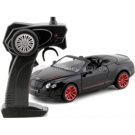 2010 Bentley Continental Supersport ISR Negro Radio Control 1:24 MZ Models 25041 Cochesdemetal.es