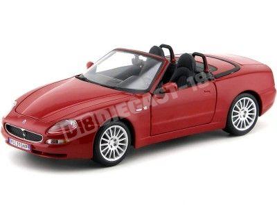 2000 Maserati GT Spyder Rojo 1:18 Bburago 12019