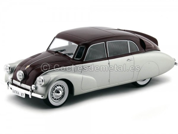 1937 Tatra 87 Gris-Granate 1:18 MC Group 18067 Cochesdemetal.es