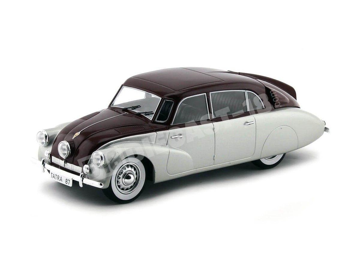 1937 Tatra 87 Gris-Granate 1:18 MC Group 18067 Cochesdemetal.es