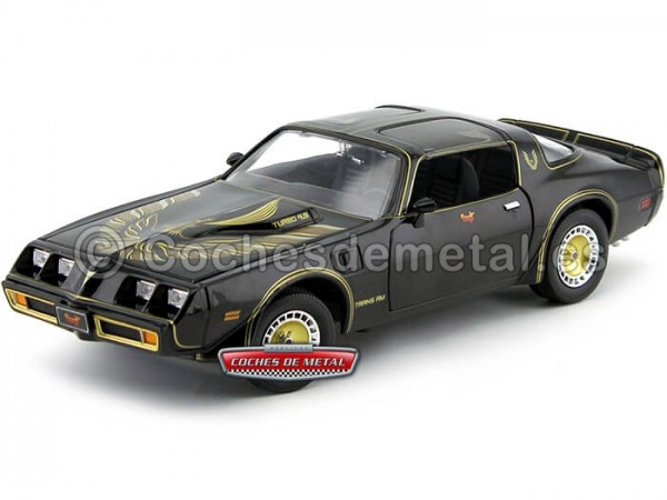 "1980 Pontiac Trans AM Turbo 4.9 ""Smokey and the Bandit - Los Caraduras 2"" 1:18 Greenlight 12944 Cochesdemetal.es"