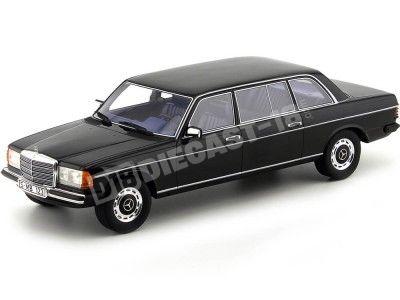1978 Mercedes-Benz Clase-E 250 W123 Lang Black 1:18 Cult Scale Models CML005 Cochesdemetal.es
