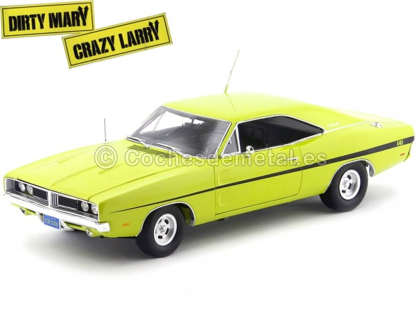 "1969 Dodge Charger R-T ""Dirty Mary, Crazy Larry"" 1:18 Auto World AWSS101"