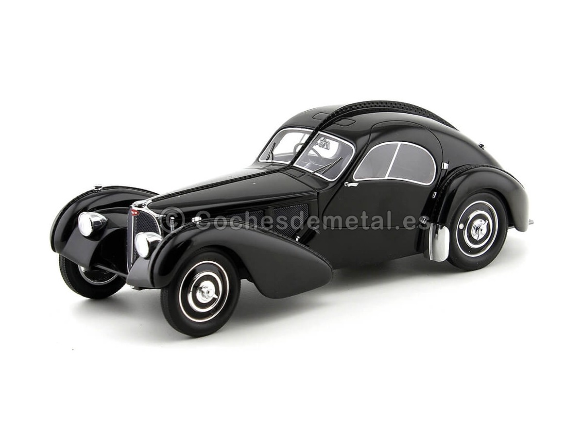 1938 Bugatti T57 SC Atlantic Negro 118 BoS-Models 298 Cochesdemetal.es