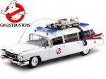 1959 Cadillac Ambulance Ecto-1 Ghostbusters Cazafantasmas 1:18 Auto World AWSS118