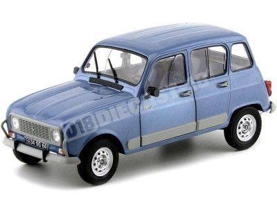 1989 Renault R4 4L GTL Clan Bleu Ardoise 1:18 Solido S1800107 Cochesdemetal.es