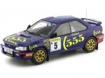1995 Subaru Impreza Winner Rally Monte Carlo Carlos Sainz 1:18 Solido 1800802