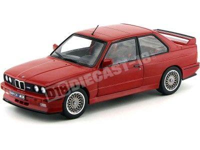 1986 BMW E30 M3 Rojo 1:18 Solido 1801502