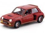 1982 Renault R5 Turbo 1 Rojo Granada 1:18 Solido 1801302