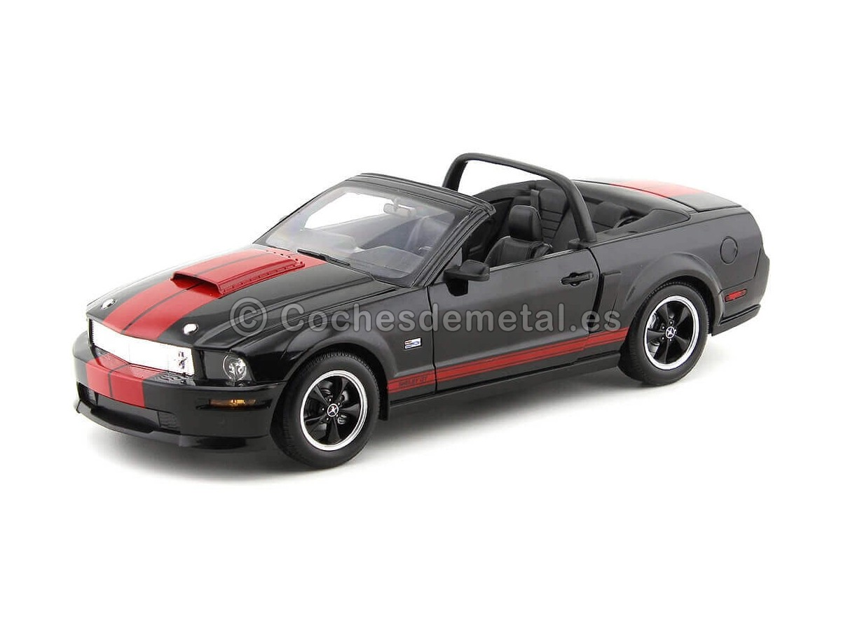 2008 Shelby GT Convertible Barrett Jackson Edition 1:18 Shelby Collectibles 09093 Cochesdemetal.es