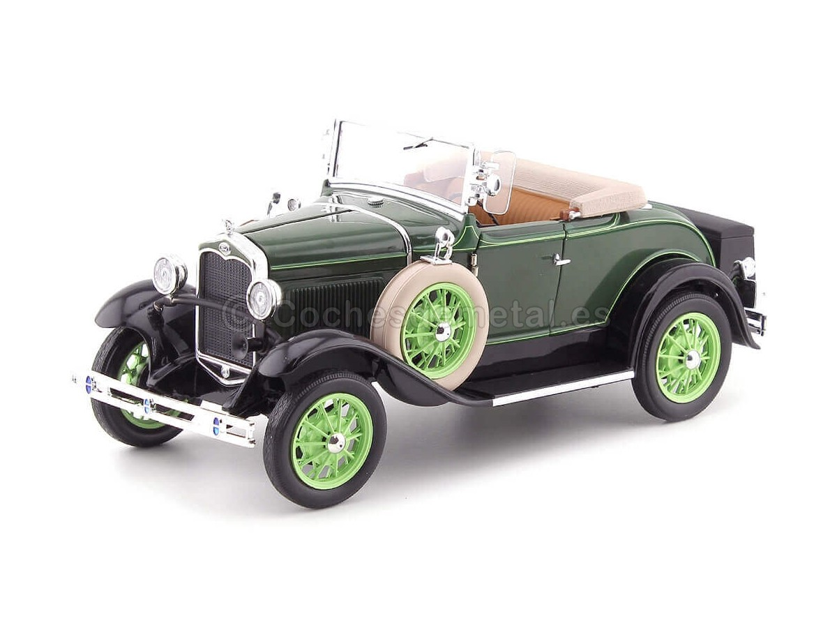 1931 Ford Model A Roadster Brewster Green 1:18 Sun Star 6123 Cochesdemetal.es