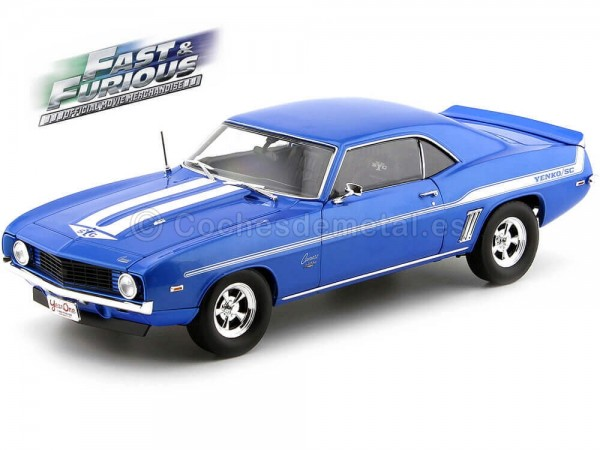 1969 Chevrolet Yenko 427 Camaro 2Fast 2Furious 1:18 Highway-61 18001