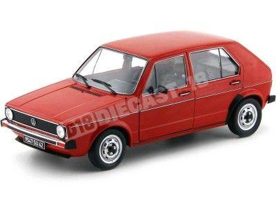 1983 Volkswagen Golf L Red Mars 1:18 Solido S1800204 Cochesdemetal.es