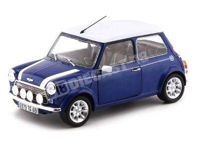 1997 Mini Cooper Sport Pack 1.3i Tahiti Blue 1:18 Solido 1800601